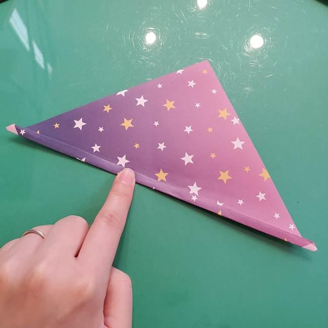 折り紙のペロペロキャンディの簡単な折り方作り方②スティック(4)