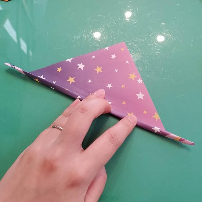 折り紙のペロペロキャンディの簡単な折り方作り方②スティック(5)