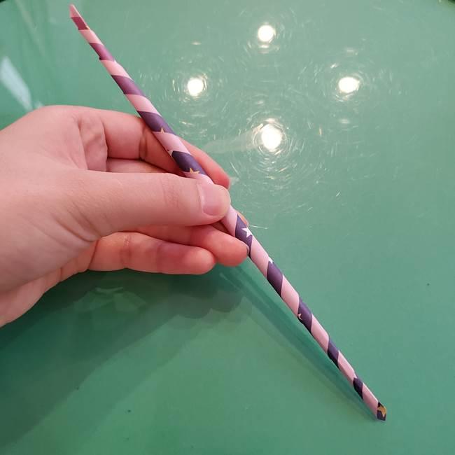 折り紙のペロペロキャンディの簡単な折り方作り方②スティック(8)