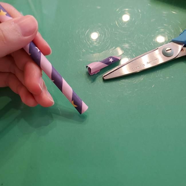 折り紙のペロペロキャンディの簡単な折り方作り方②スティック(9)