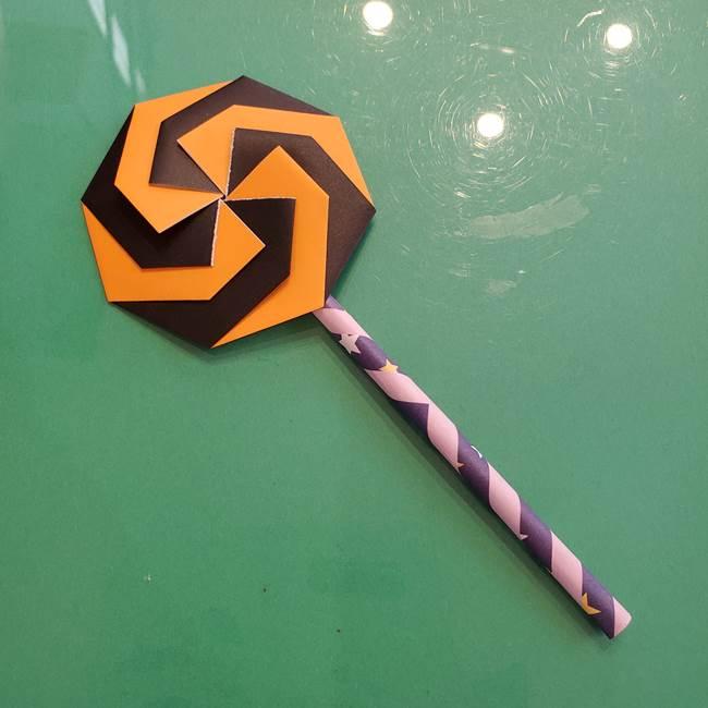 折り紙のペロペロキャンディの簡単な折り方作り方③完成(14)