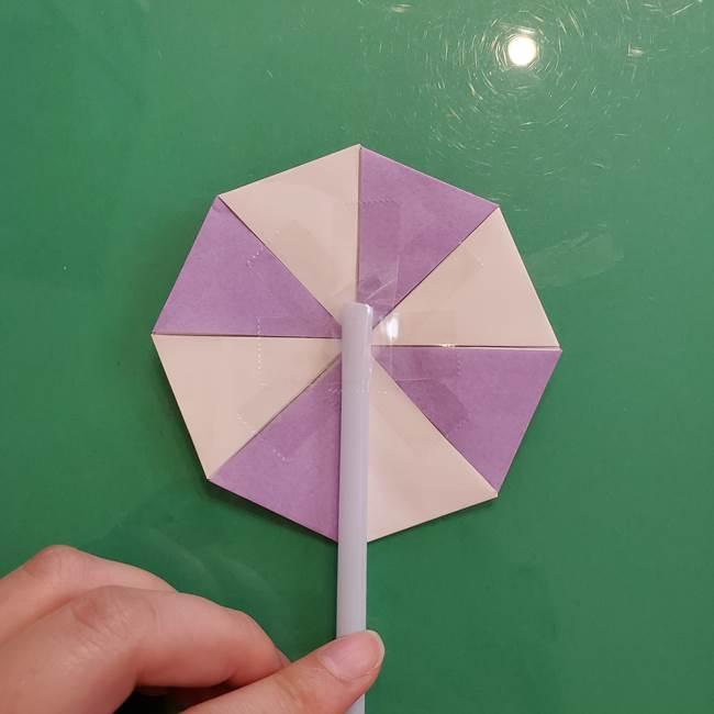 折り紙のペロペロキャンディの簡単な折り方作り方③完成(17)