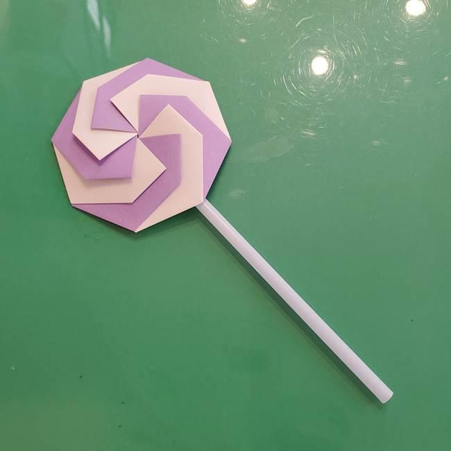折り紙のペロペロキャンディの簡単な折り方作り方③完成(18)