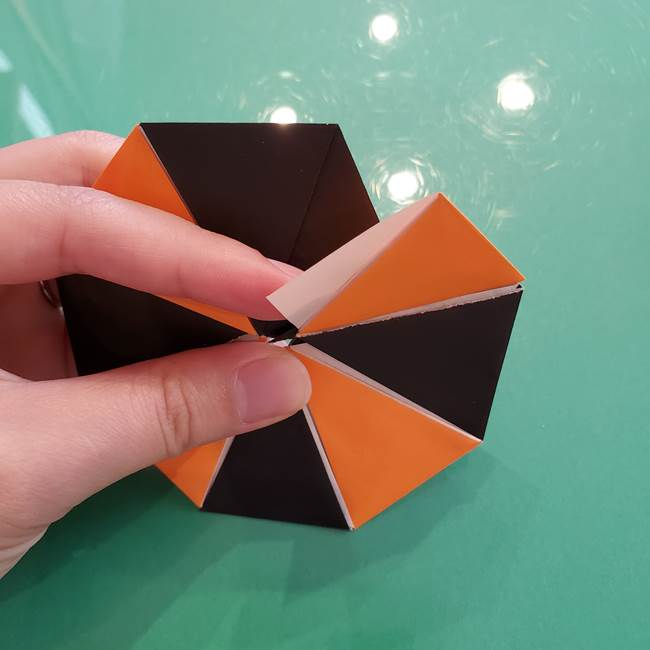 折り紙のペロペロキャンディの簡単な折り方作り方③完成(7)