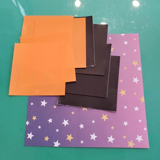 折り紙のペロペロキャンデイの折り方は簡単♪用意するもの(1)