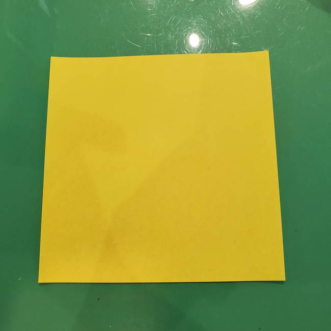 折り紙の梨は立体的でかわいい!用意するもの