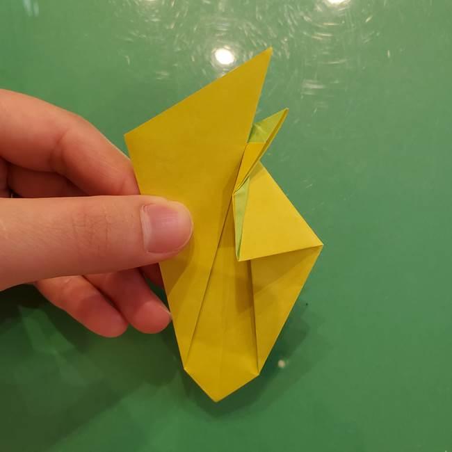 折り紙の梨 立体的でリアルな折り方作り方②後(12)