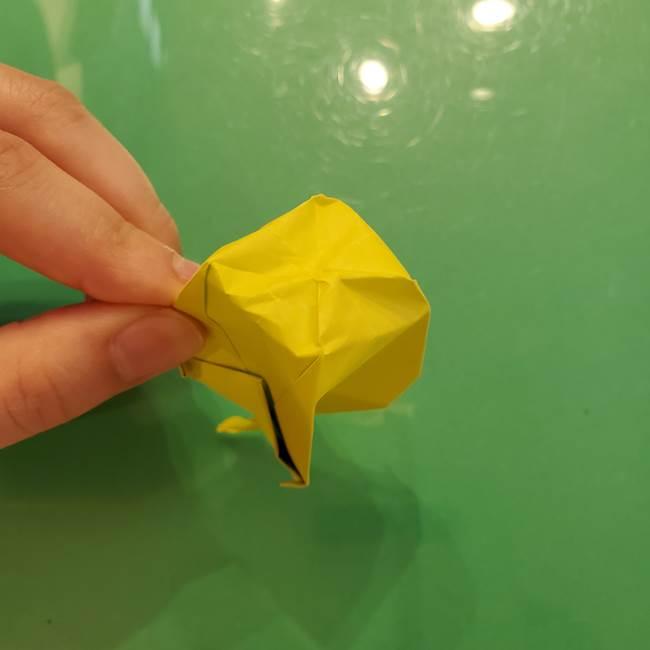折り紙の梨 立体的でリアルな折り方作り方②後(25)