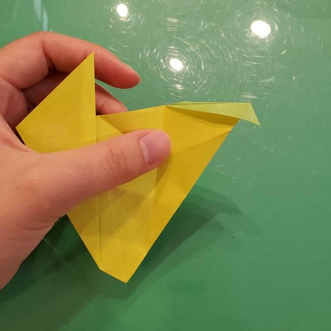 折り紙の梨 立体的でリアルな折り方作り方②後(9)