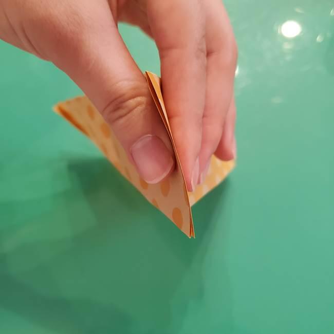 折り紙 キャンディーボックスの簡単な折り方作り方①折り方(10)