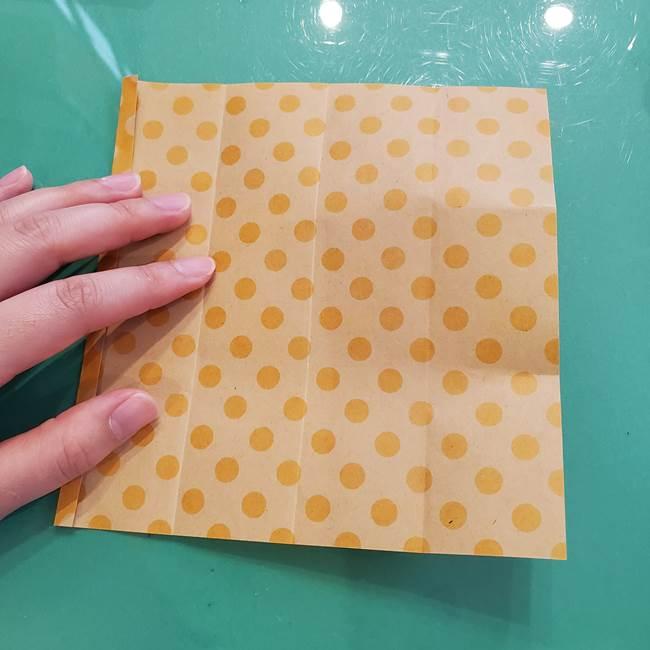 折り紙 キャンディーボックスの簡単な折り方作り方①折り方(11)