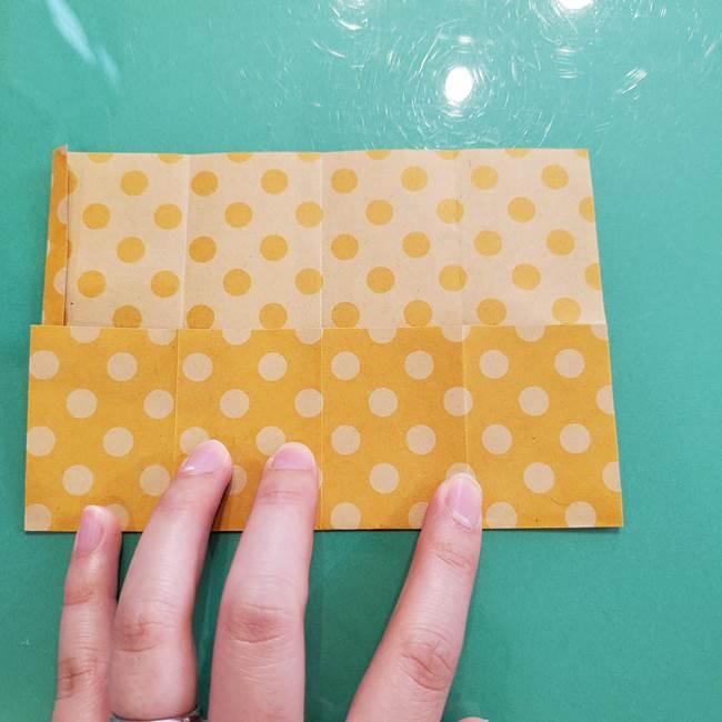 折り紙 キャンディーボックスの簡単な折り方作り方①折り方(12)
