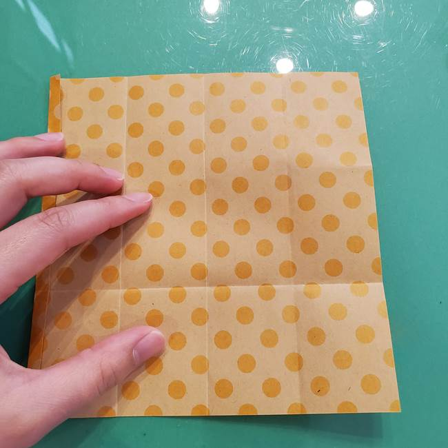 折り紙 キャンディーボックスの簡単な折り方作り方①折り方(13)