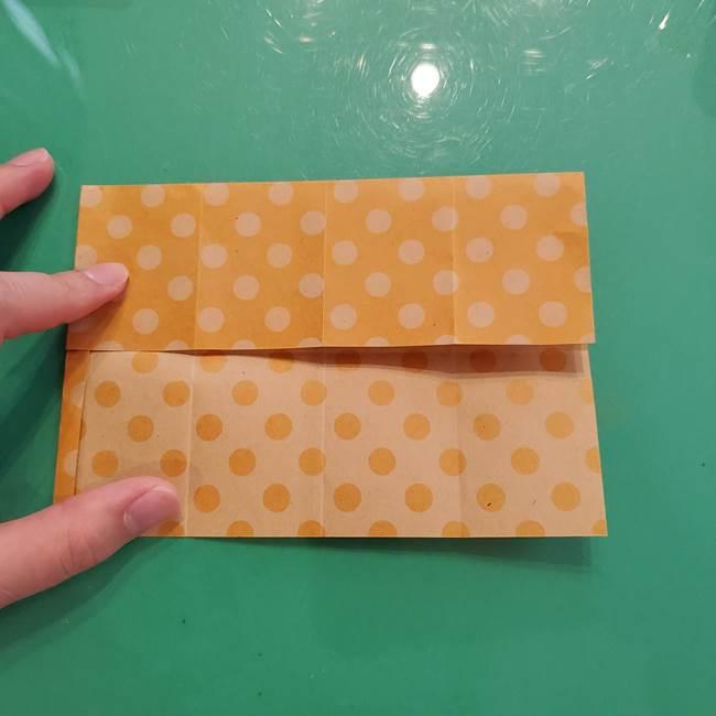 折り紙 キャンディーボックスの簡単な折り方作り方①折り方(14)