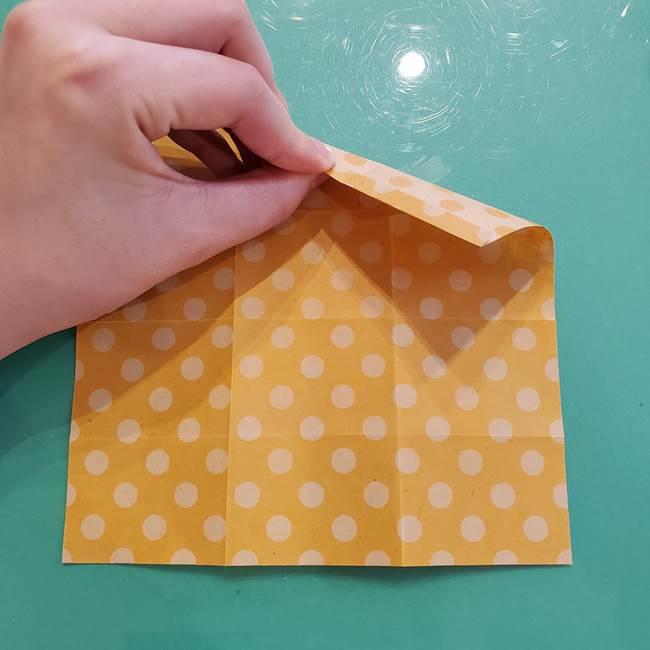 折り紙 キャンディーボックスの簡単な折り方作り方①折り方(16)