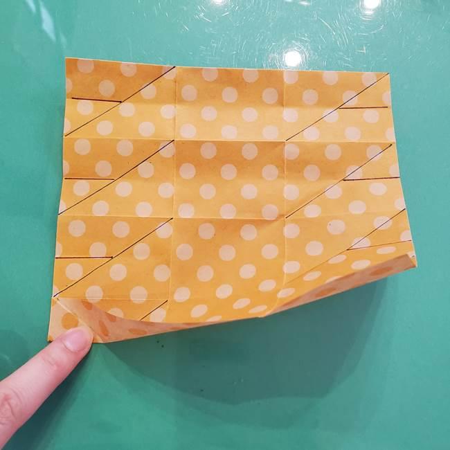 折り紙 キャンディーボックスの簡単な折り方作り方①折り方(21)