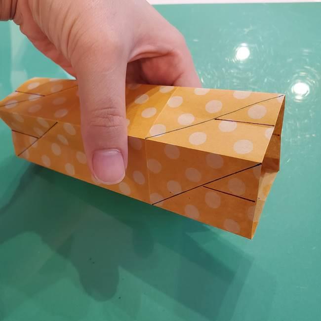 折り紙 キャンディーボックスの簡単な折り方作り方①折り方(28)