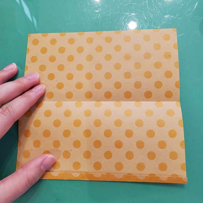 折り紙 キャンディーボックスの簡単な折り方作り方①折り方(5)