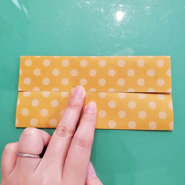 折り紙 キャンディーボックスの簡単な折り方作り方①折り方(6)