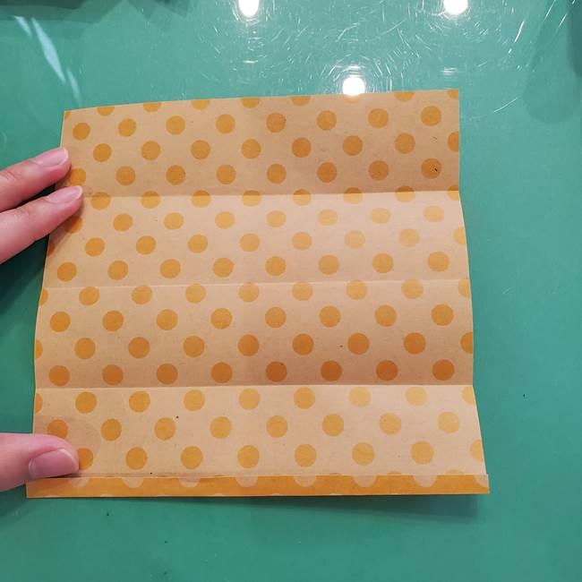 折り紙 キャンディーボックスの簡単な折り方作り方①折り方(7)