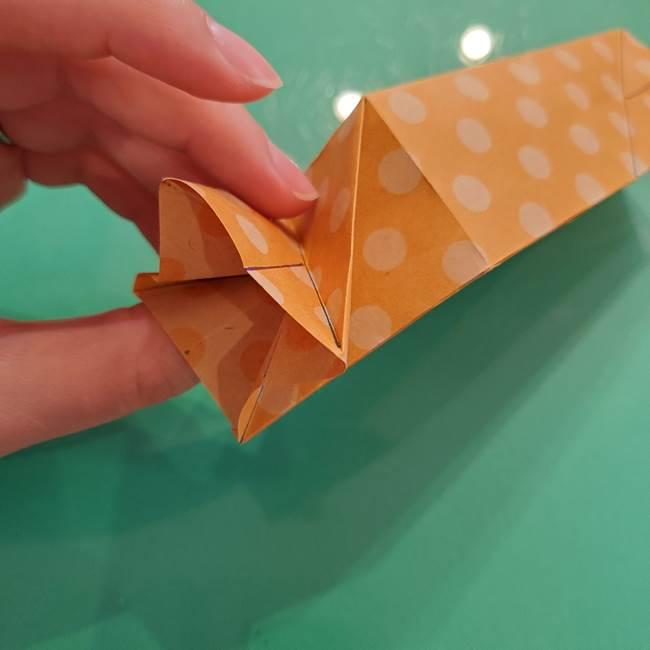 折り紙 キャンディーボックスの簡単な折り方作り方②調整(2)