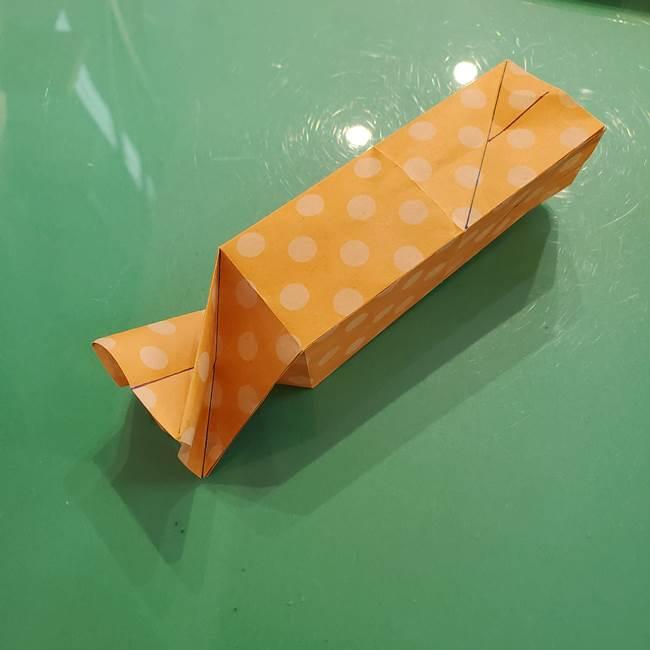 折り紙 キャンディーボックスの簡単な折り方作り方②調整(4)