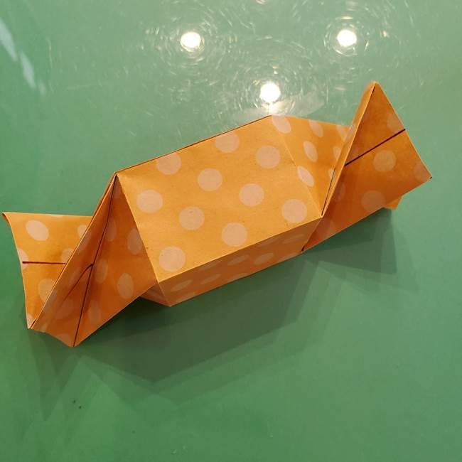 折り紙 キャンディーボックスの簡単な折り方作り方②調整(6)
