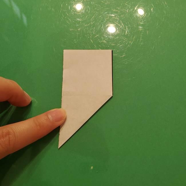 鈴虫の折り紙 簡単な折り方作り方(4)