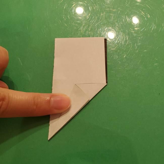 鈴虫の折り紙 簡単な折り方作り方(5)