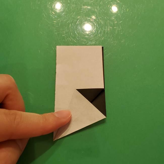 鈴虫の折り紙 簡単な折り方作り方(8)