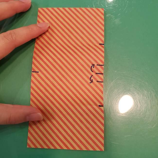 飴のラッピングできる折り紙の折り方(12)