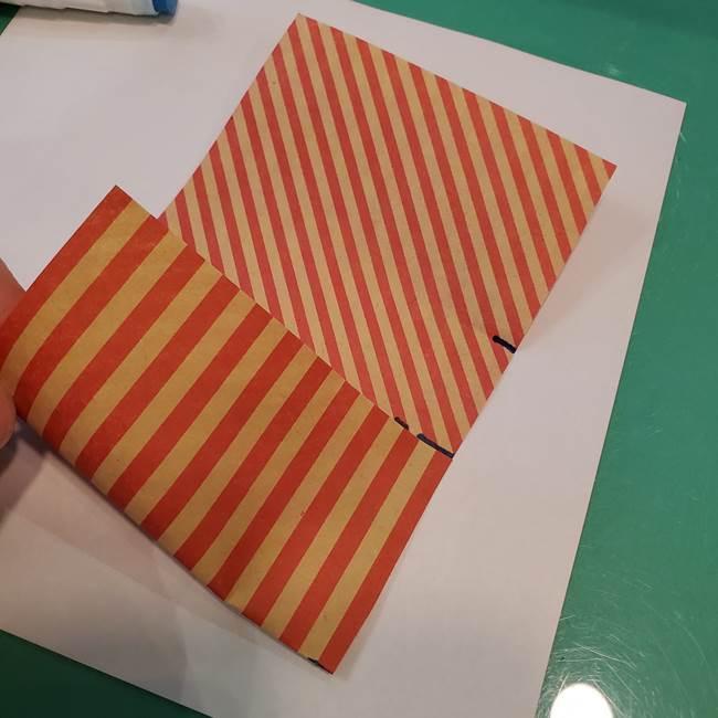 飴のラッピングできる折り紙の折り方(14)