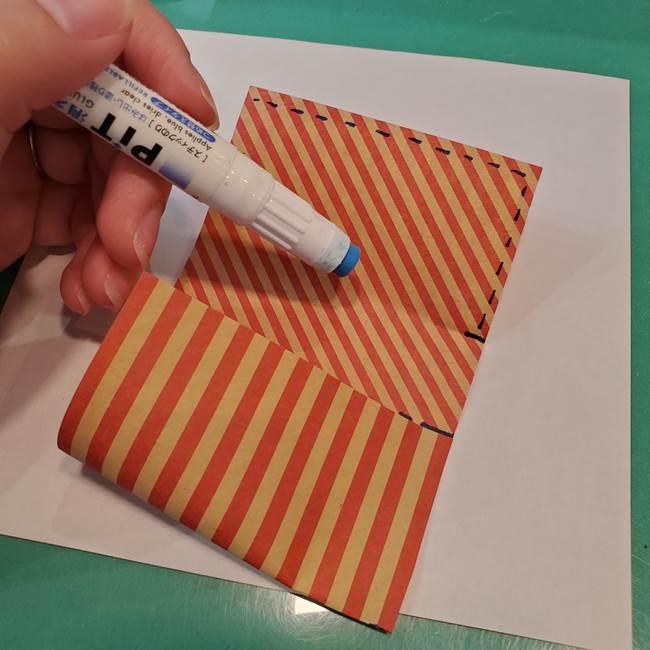 飴のラッピングできる折り紙の折り方(15)