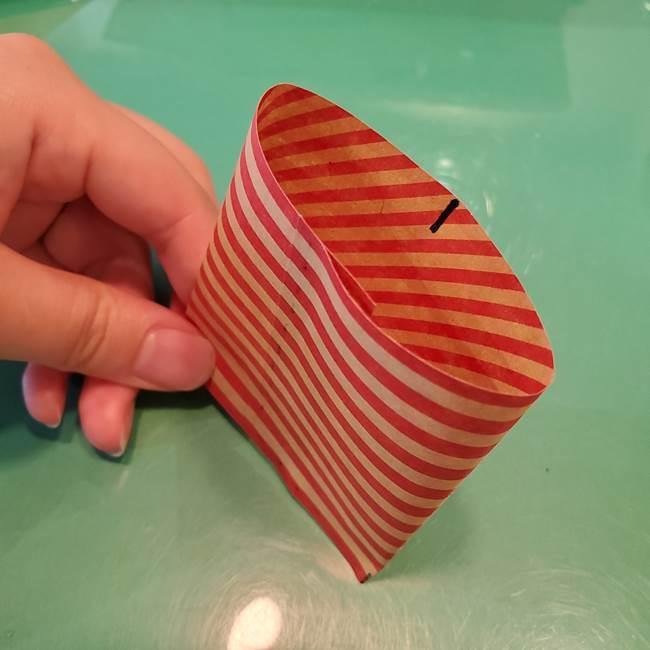 飴のラッピングできる折り紙の折り方(16)