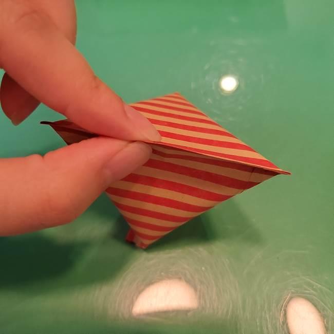 飴のラッピングできる折り紙の折り方(19)