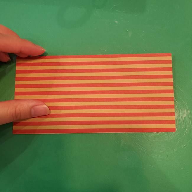 飴のラッピングできる折り紙の折り方(2)