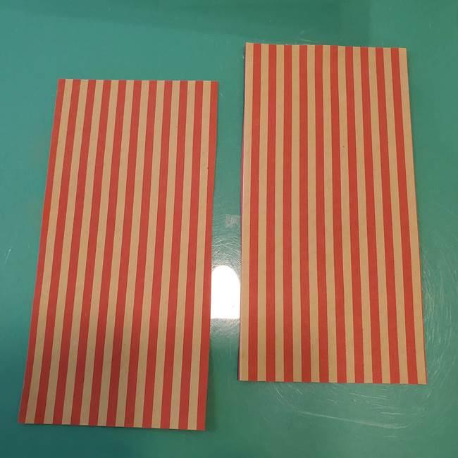 飴のラッピングできる折り紙の折り方(3)