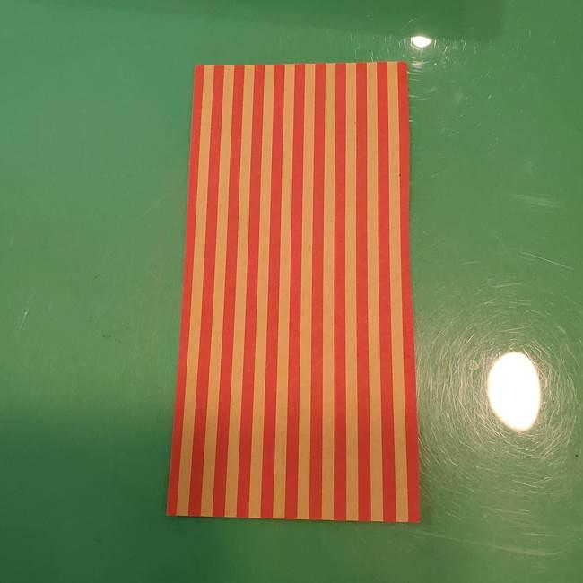 飴のラッピングできる折り紙の折り方(4)