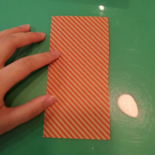 飴のラッピングできる折り紙の折り方(5)