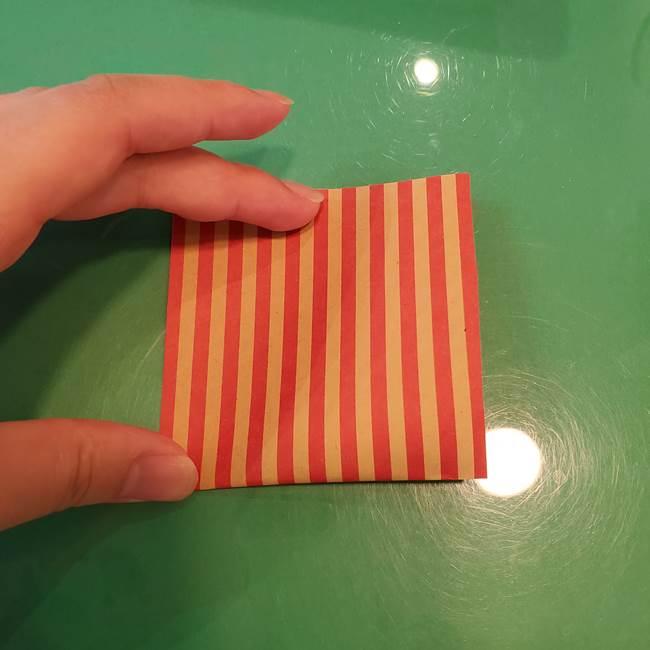 飴のラッピングできる折り紙の折り方(7)