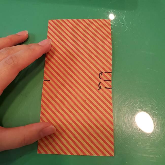 飴のラッピングできる折り紙の折り方(8)