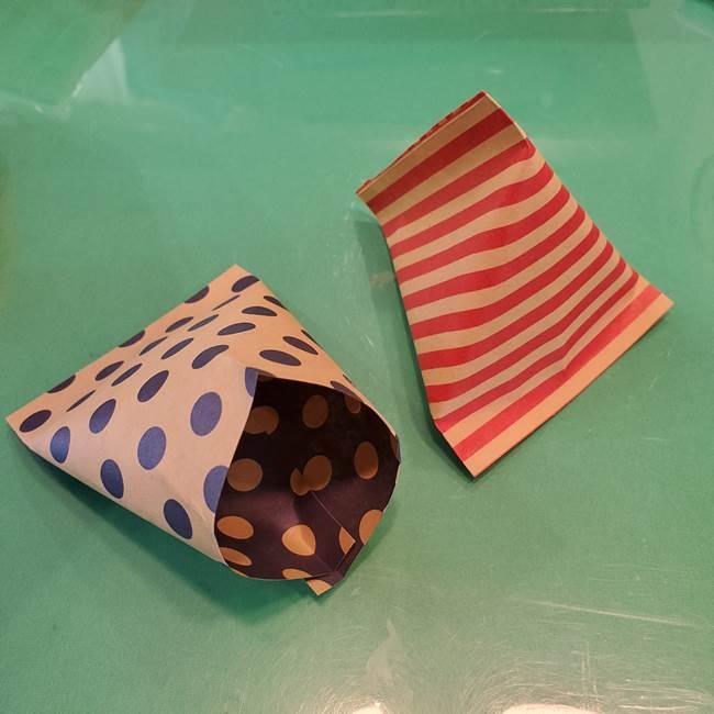 飴のラッピングを折り紙で手作り☆かわいいハロウィンのギフトに♪