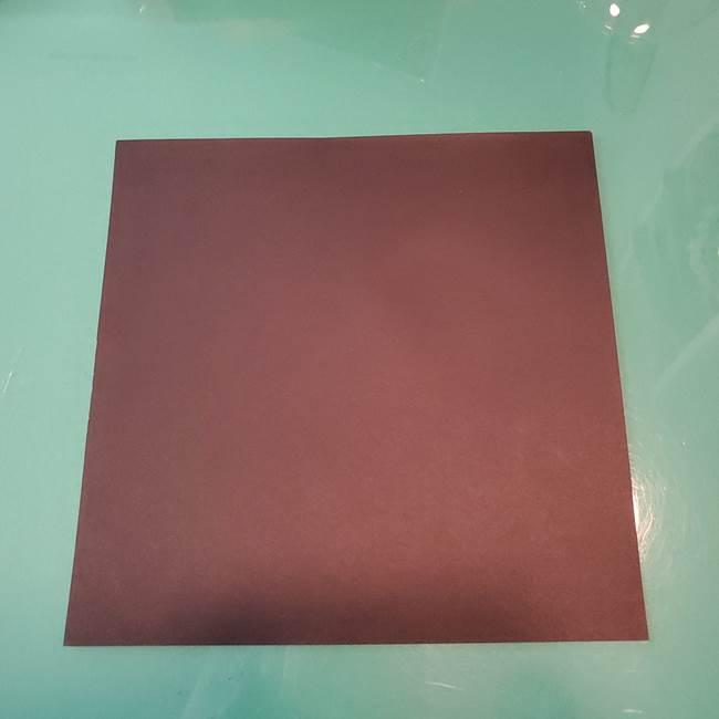 魔女の折り紙を幼児と簡単につくろう♪用意するもの(1)