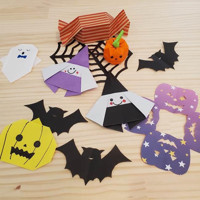 魔女の折り紙 幼児でも簡単な折り方作り方まとめ