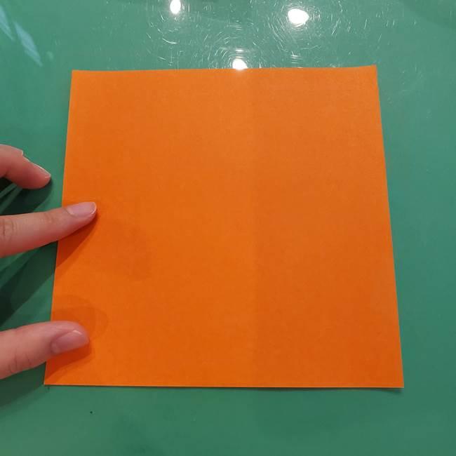 鮭の折り紙の折り方作り方①身(1)