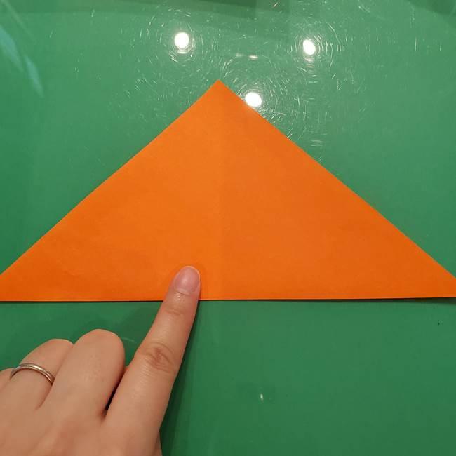 鮭の折り紙の折り方作り方①身(2)