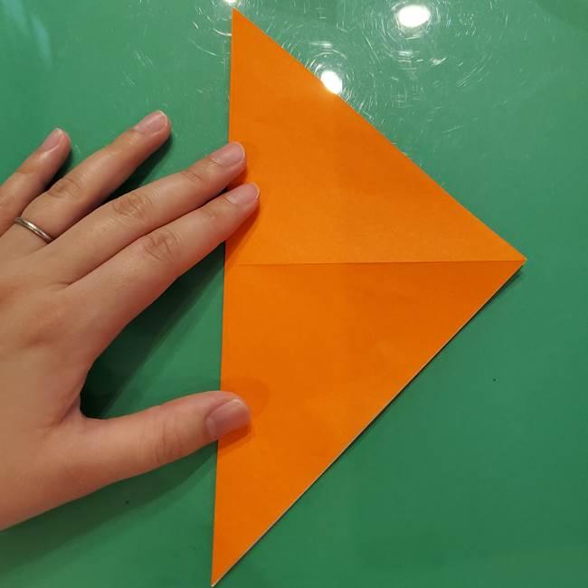 鮭の折り紙の折り方作り方①身(4)
