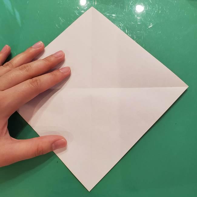鮭の折り紙の折り方作り方①身(5)