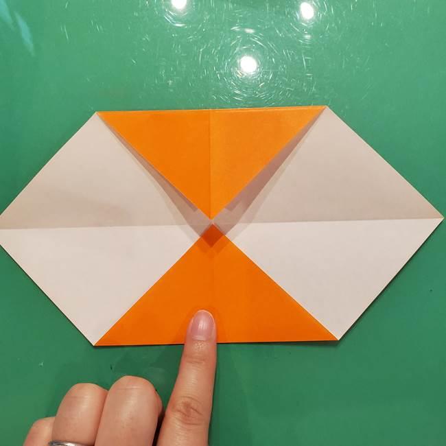鮭の折り紙の折り方作り方①身(6)