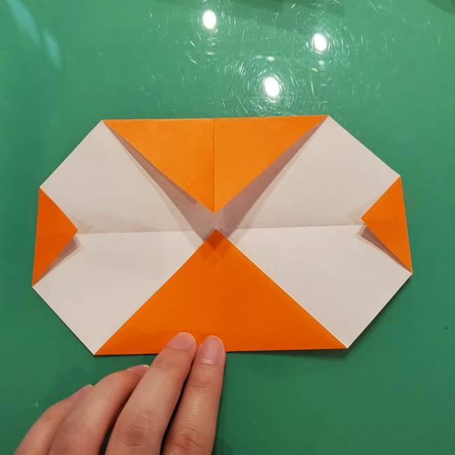 鮭の折り紙の折り方作り方①身(7)